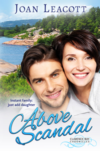 Cover for Above Scandal by Joan Leacott