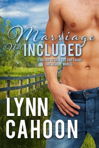 link to Amazon. com for MARRIAGE NOT INCLUDED  by Lynn Cahoon