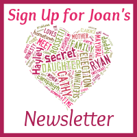 Click to add your name to Joan's newsletter list.